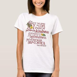 Camiseta Fruta da blusa do espírito