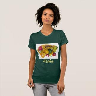 Camiseta Fruta tropical e leus