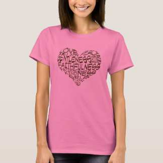 Camiseta Frutas do t-shirt do espírito