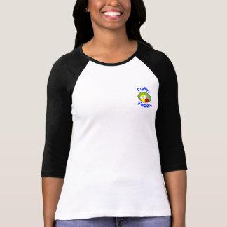 """Camiseta """"Fudsy enfrenta"""" - mulheres Jersey """"melhor com um"""