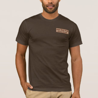 Camiseta Fuga de John Muir - montanhas, rios e ursos!