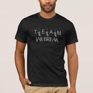 Camiseta Fuga de presos da equipe