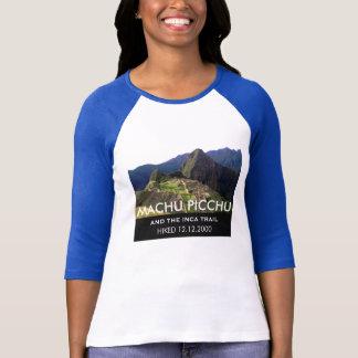 Camiseta Fuga feita sob encomenda do Inca de Machu Picchu