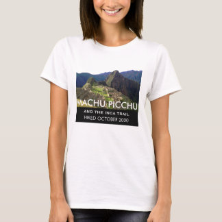 Camiseta Fuga personalizada Machu Picchu do Inca
