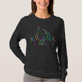 Camiseta fulgor do iDIve para a obscuridade