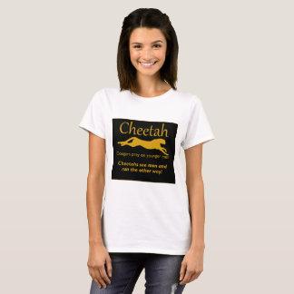 Camiseta Funcionamento do t-shirt da chita dos homens