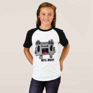 Camiseta Funcionando longe dos problemas, como o cozimento