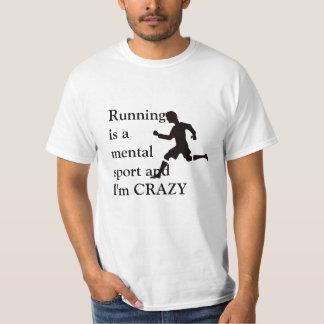 Camiseta Funcionar é um esporte mental
