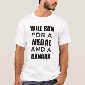 Camiseta Funcionará para uma medalha e uma maratona