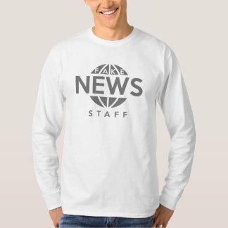 Camiseta Funcionarios falsificados da notícia