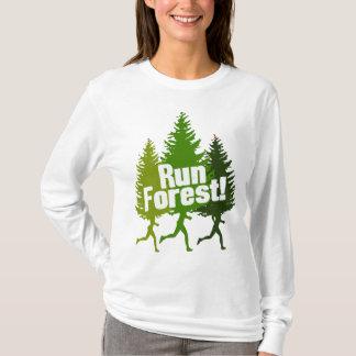 Camiseta Funcione a floresta, proteja o Dia da Terra