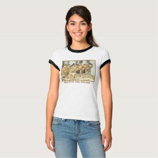 Camiseta Funcione com os lobos, foto do grande bloco dos