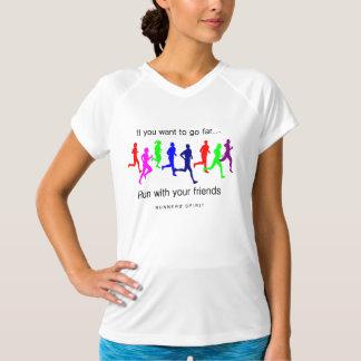 Camiseta Funcione com seu equilíbrio novo SS dos amigos
