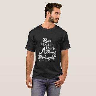 Camiseta Funcione como a meia-noite golpeada pulso de