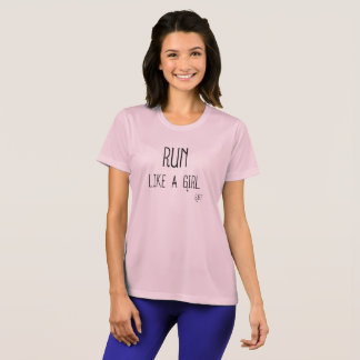 Camiseta Funcione como um T atlético da MENINA