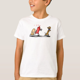 Camiseta Funcione o t-shirt do cão do Wiener