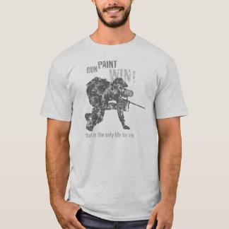 Camiseta Funcione… Pinte… Vitória! T-shirt afligido do