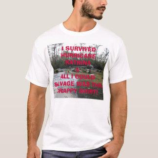 Camiseta Fundação após Katrina, I SURVIVEDHUR de Tegeder…