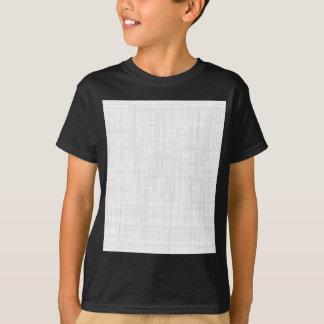 Camiseta Fundo branco do efeito do Grunge