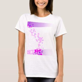 Camiseta Fundo cor-de-rosa abstrato