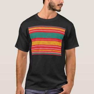 Camiseta Fundo de confecção de malhas listrado