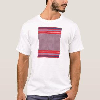 Camiseta Fundo de confecção de malhas listrado 2