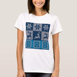 Camiseta Fundo decorativo feito malha