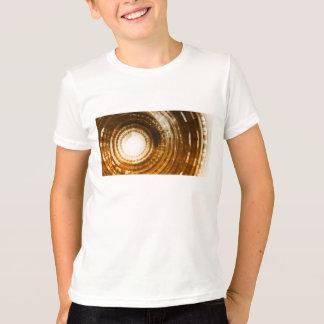 Camiseta Fundo do abstrato dos dados binários para Digitas