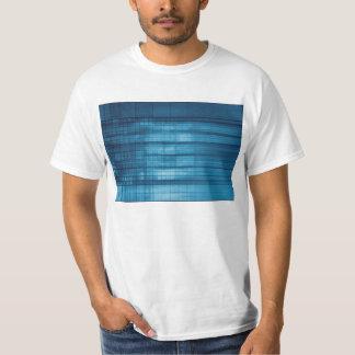 Camiseta Fundo do mosaico da tecnologia como uma arte do