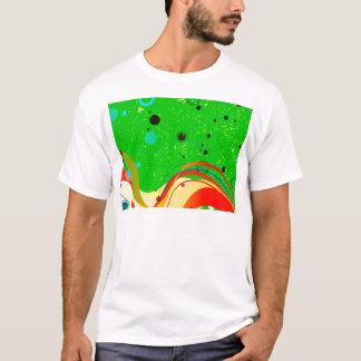 Camiseta Fundo verde do jazz