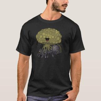 Camiseta Fungo de Cordyceps - formiga preta