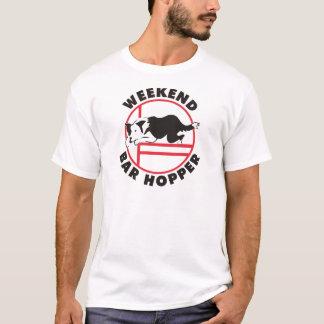 Camiseta Funil do bar do fim de semana da agilidade de