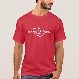 Camiseta Funny: I'm a catholic. Cat lover