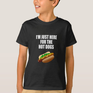 Camiseta Funny: I'm justamente Hot here the Dogs for. BBQ