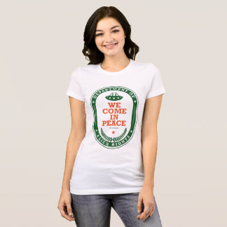 Camiseta FunnyDepartment dos direitos estrangeiros