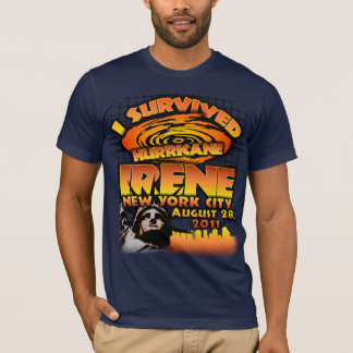 Camiseta Furacão Irene, Nova Iorque