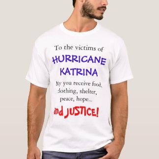 Camiseta Furacão Katrina