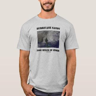 Camiseta Furacão Sandy 2000 milhas de tempestade