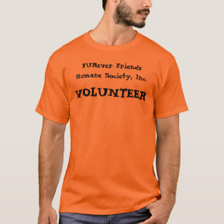 Camiseta FURever Amigos Humano Sociedade, Inc., T