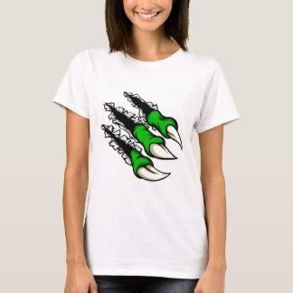 Camiseta Furo da garra do monstro dos desenhos animados