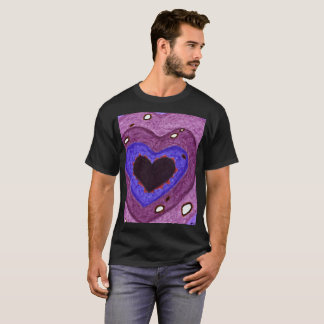 Camiseta Furo no t-shirt do coração