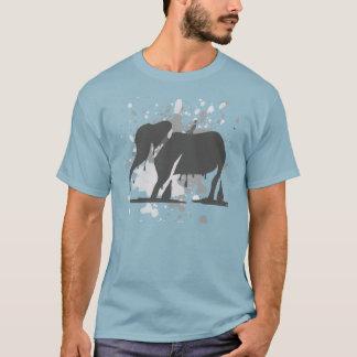 Camiseta Fusão do elefante
