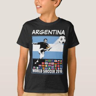 Camiseta Futebol 2010 do mundo de Argentina