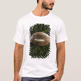 Camiseta Futebol americano na grama, vista de cima de