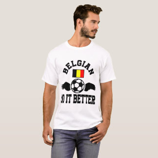 Camiseta futebol belga melhora
