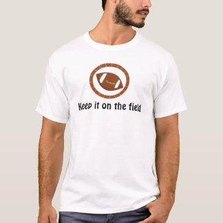 Camiseta Futebol com dizer do esporte