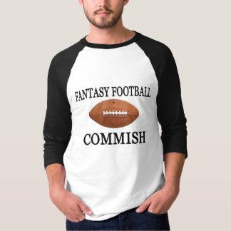Camiseta Futebol Commish da fantasia