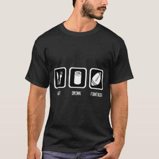 Camiseta Futebol da fantasia (camisa escura)