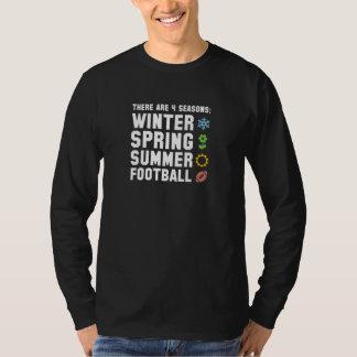 Camiseta Futebol de 4 estações