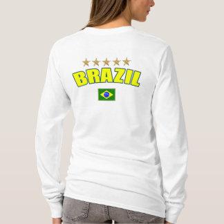 Camiseta Futebol de Brasil - Brasil 5 stars o brasileiro